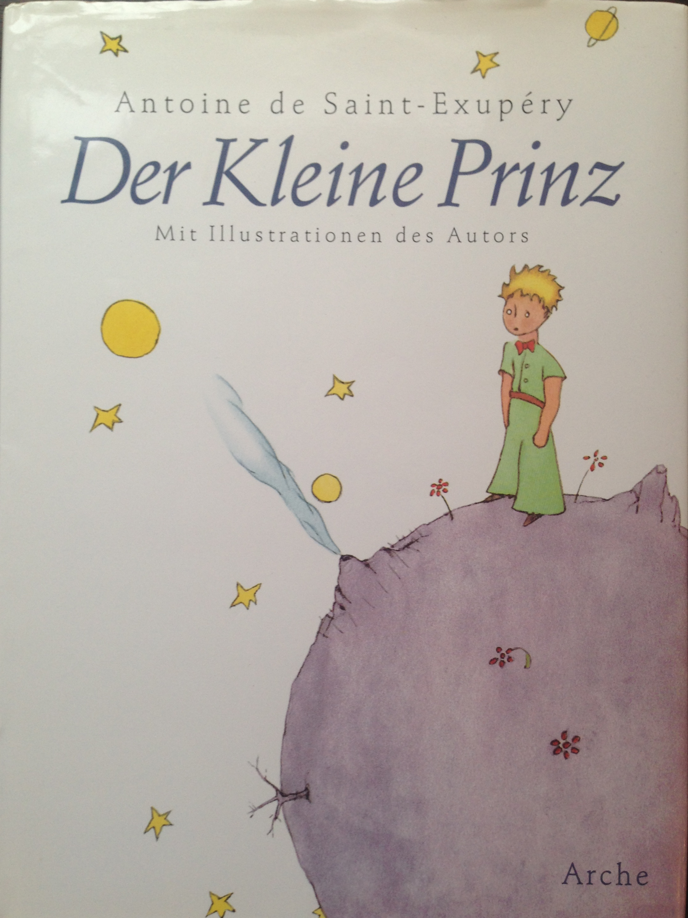 der kleine prinz german the little prince collection. Black Bedroom Furniture Sets. Home Design Ideas